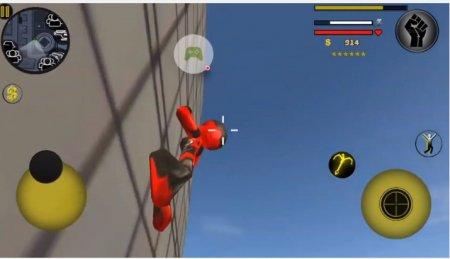 Скачать игру stickman rope hero 2